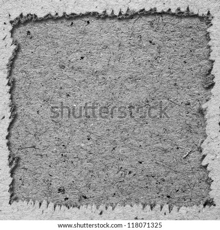 Paper texture and background with frame