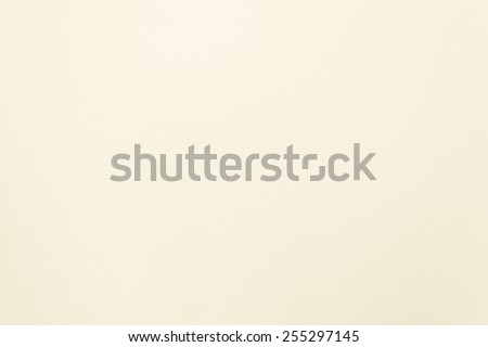 Paper texture background in light cream tone  - stock photo