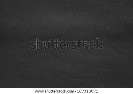 Paper texture - Black paper sheet - stock photo