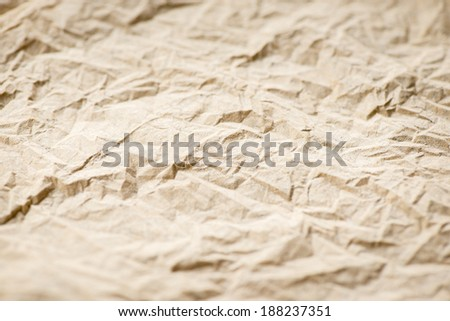 Paper texture. brown paper sheet. - stock photo