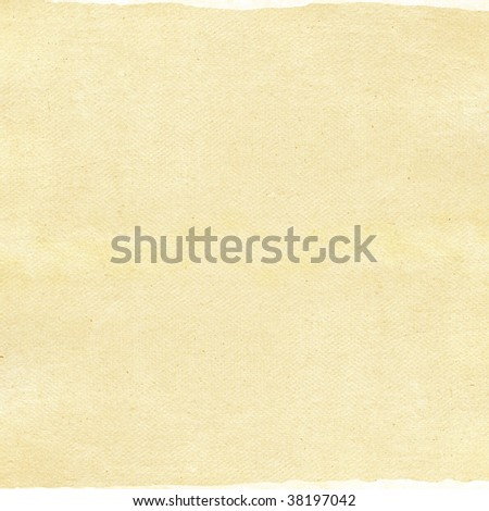 Paper texture isolated on white
