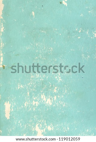 Paper texture of blue color - stock photo
