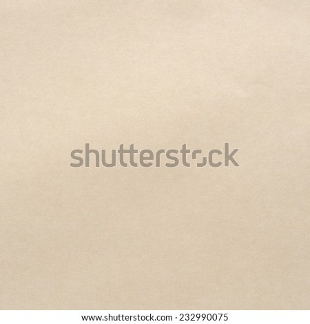 Paper texture of brown paper sheet. - stock photo