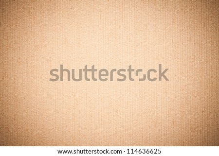 Paper texture or background. Beige color. - stock photo
