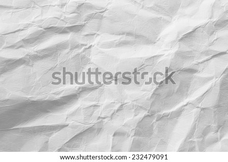 Paper texture,White paper sheet - stock photo