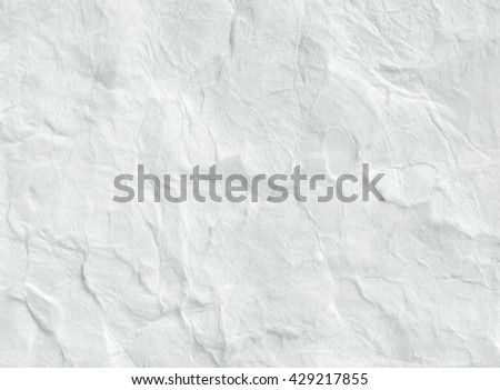 Paper texture. White paper sheet. - stock photo