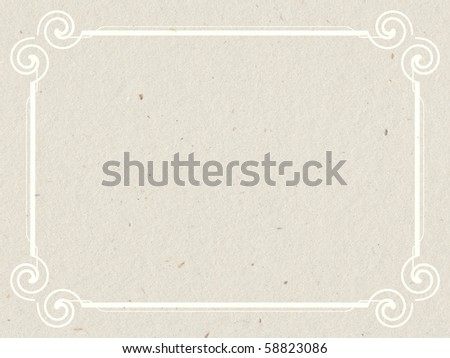 paper texture with frame