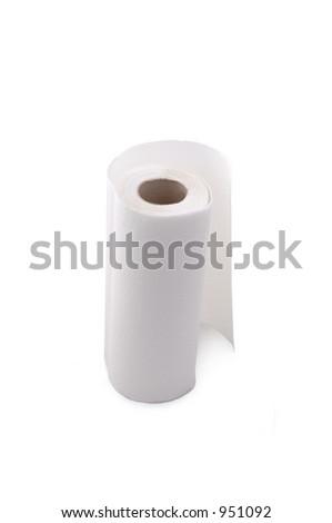 paper towel - stock photo