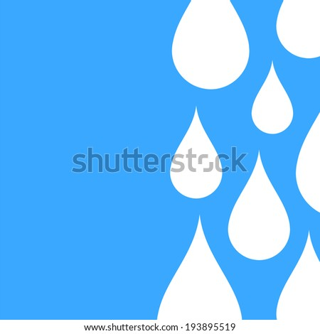 Paper water drop abstract background. Perfect for your business presentations
