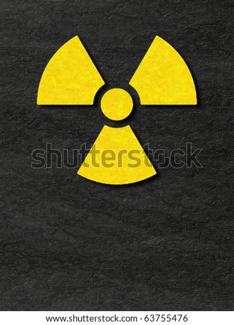 Paper work of Radioactive Sign