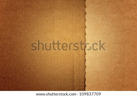 Paperboard. Cardboard background. Paper texture - stock photo