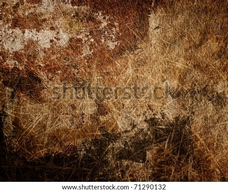 Paperboard grunge - stock photo