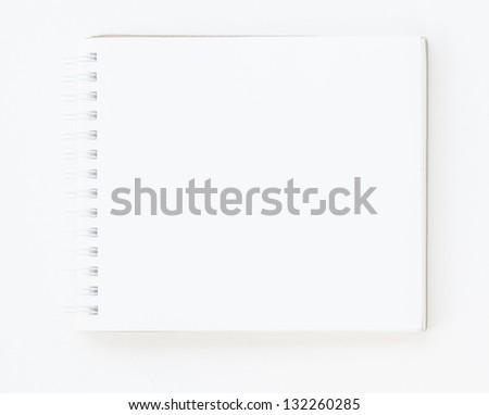 Papernote on white background - stock photo