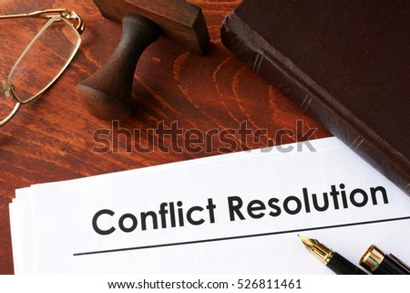 conflict resolution 3 essay Examining plot conflict through a comparison/contrast essay setting, conflict, and resolution grades 3 - 12 | student interactive while students in this lesson are writing a comparison/contrast essay on conflict in their lives and in literature.