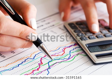 Paperwork. - stock photo