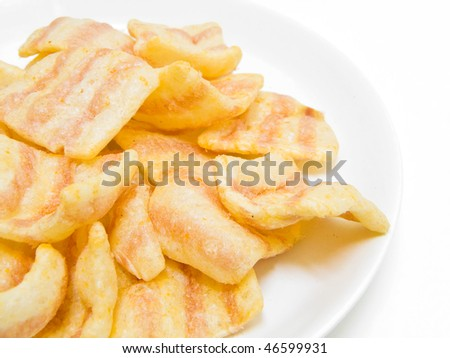 Paprika potato chips.