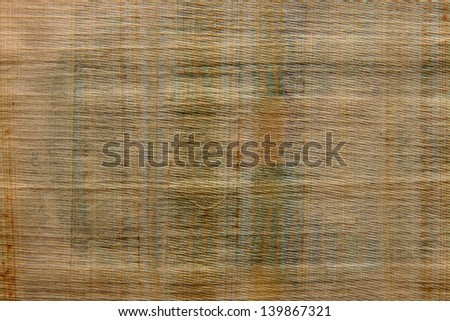 papyrus - vintage paper with space for text or image - stock photo
