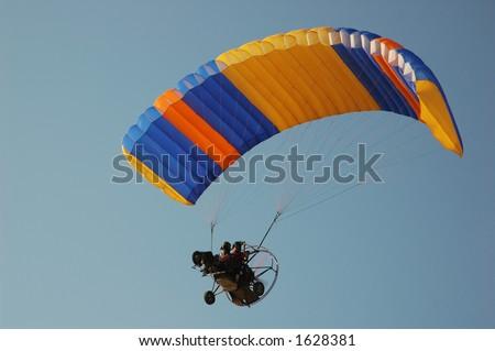 Parachute Motor - stock photo
