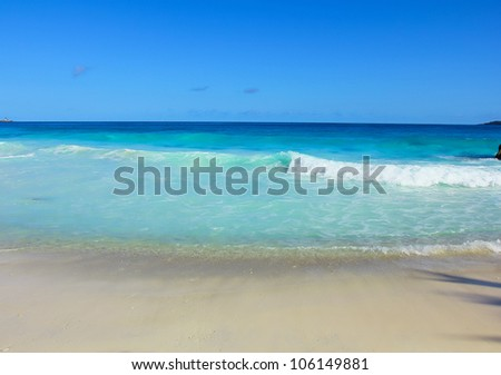 Paradise Beach Ideal - stock photo