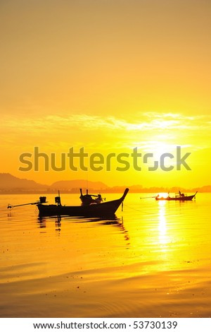 paradise beach, Trang, Thailand - stock photo