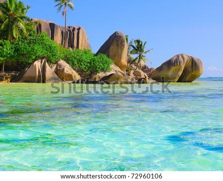 Paradise Ocean Getaway - stock photo