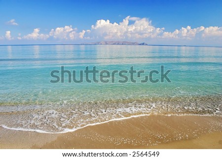 Paradise Tropical Beach - stock photo