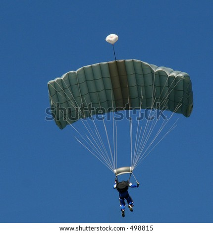 Paraglider - stock photo