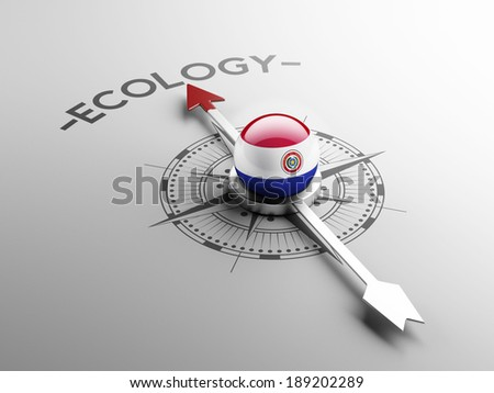 Paraguay High Resolution Ecology Concept - stock photo