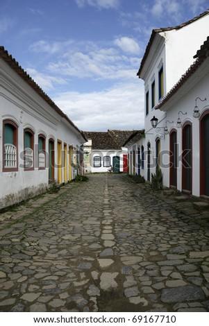 PARATY, RIO DE JANEIRO - stock photo