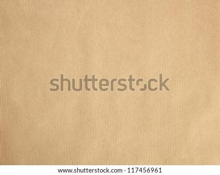 Parcel Paper - stock photo