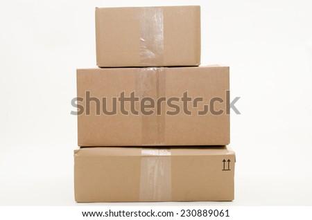 parcels - stock photo