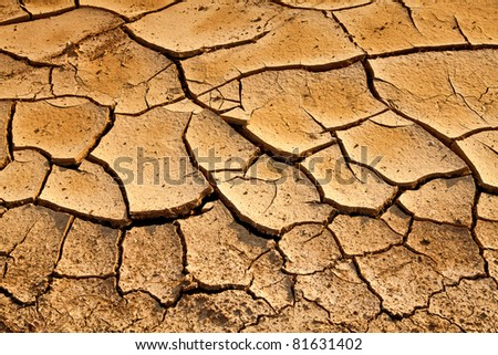 Parched Earth - the effect of Global Warming or climate change.