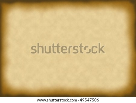 parched paper background - stock photo