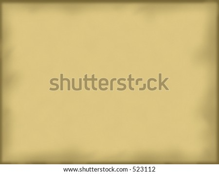 Parchment background - stock photo
