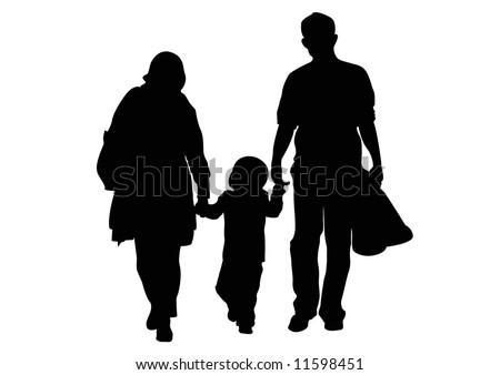 parents and one child