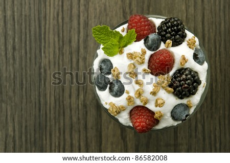Parfait Dessert - stock photo
