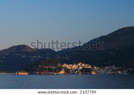Parga at sunrise