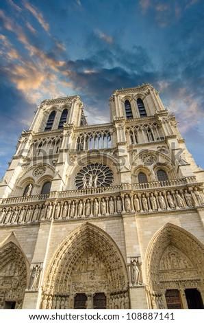 Paris Architecture - France - stock photo