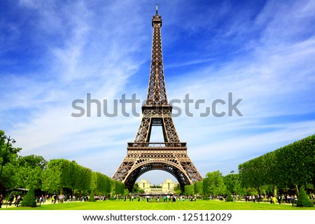 Paris Best Destinations in Europe - stock photo
