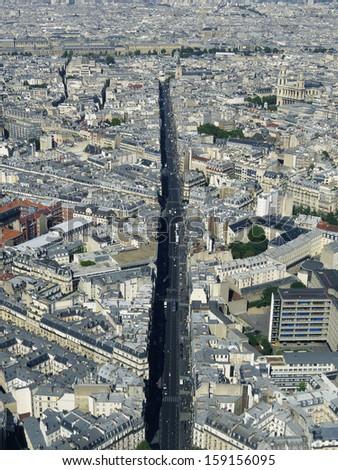 Paris city - France - stock photo