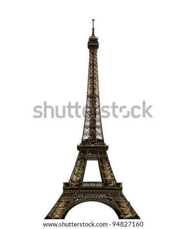 Paris Eiffel Tower - stock photo
