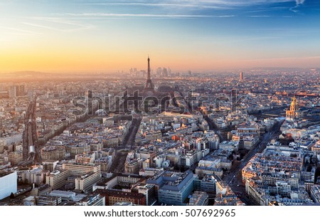 Paris - Eiffel tower, France
