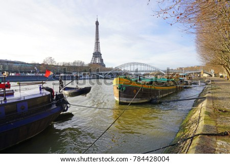 Paris France 26 December 2017 Peniche Stock Photo Royalty Free