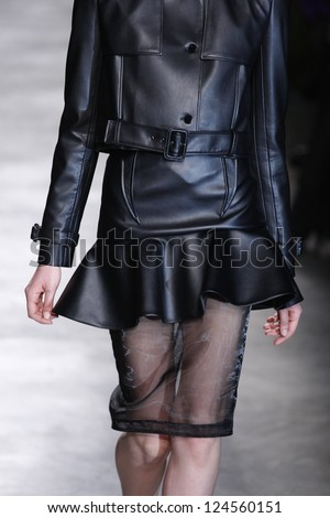 PARIS, FRANCE - MARCH 06: A model walks the runway at the Givenchy fashion show during Paris Fashion Week on March 6, 2011 in Paris, France.