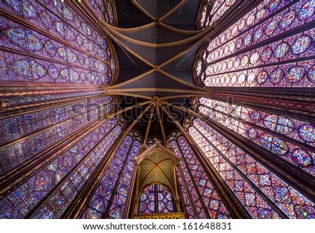 paris france october 04 2013 interiors chapelle de la sorbonne chappelle de la