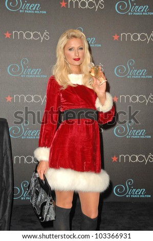 "Paris Hilton  at the launch of ""Siren"" Fragrance by Paris Hilton presented by Macy's, Macy's store, Glendale, CA. 12-03-09"