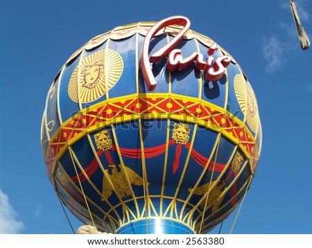Paris Las Vegas - stock photo