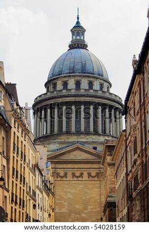 Paris - Le Pantheon - stock photo