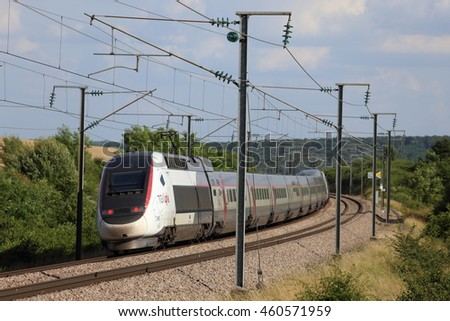 tgv train stock images royalty free images vectors shutterstock. Black Bedroom Furniture Sets. Home Design Ideas