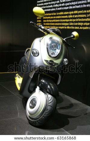 Paris October 11 Mini Scooter E Stock Photo Edit Now 63165868